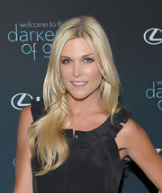 Tinsley Mortimer showed off her flowing blonde curls while hitting an event in NYC.