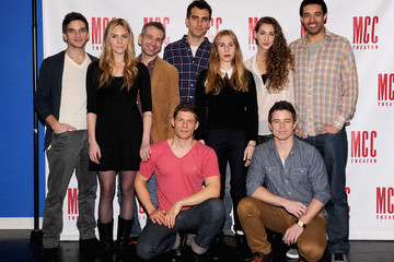 "David Hull Zosia Mamet ""Really Really"" Press Preview"