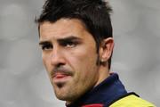 David Villa Messy Cut