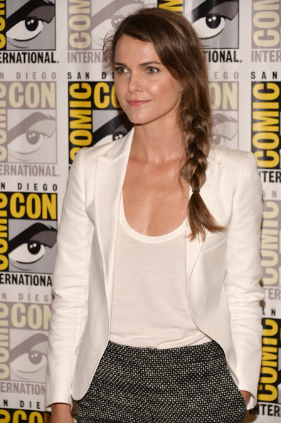 More Pics of Keri Russell Long Braided Hairstyle (1 of 31) - Long Braided Hairstyle Lookbook - StyleBistro