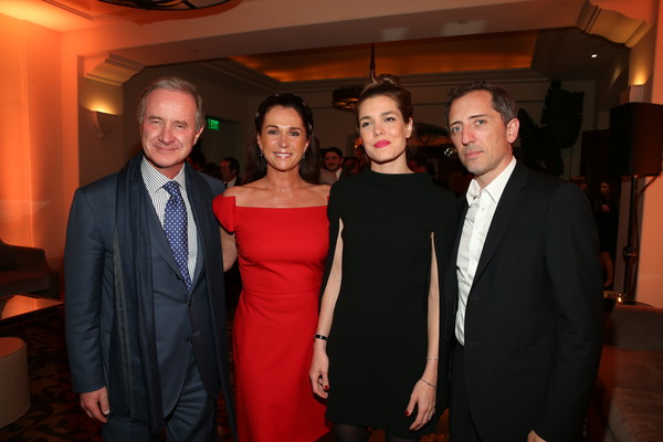 More Pics of Charlotte Casiraghi Little Black Dress (1 of 7) - Dresses & Skirts Lookbook - StyleBistro [event,fashion,formal wear,suit,fun,smile,party,fiji water,nominees,partnership,deleon tequila,academy awards,chopard,the weinstein company,mac cosmetics,dinner,nominees dinner]