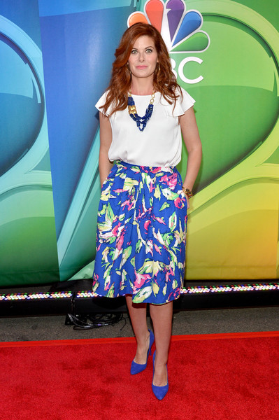 Debra Messing Loose Blouse