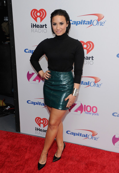 Demi Lovato Mini Skirt