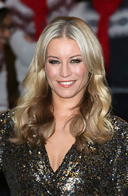 Denise Van Outen styled her ombre locks in luscious waves at the Freeview launch.