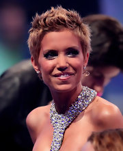 Sylvie van der Vaart showed off her gorgeous features with an amazing 