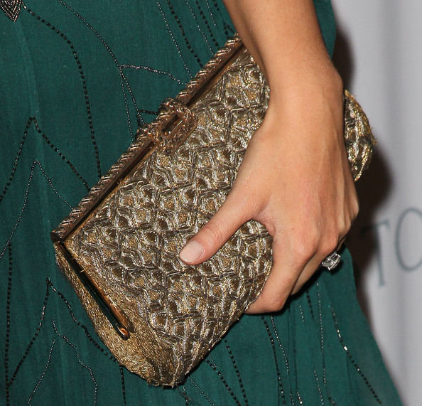 Devon Aoki Metallic Clutch