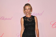 Jury Member Uma Thurman attends the Diamonds Are Girls Best Friend event during the 64th Annual Cannes Film Festival held at Nikki Beach on May 16, 2011 in Cannes, France.