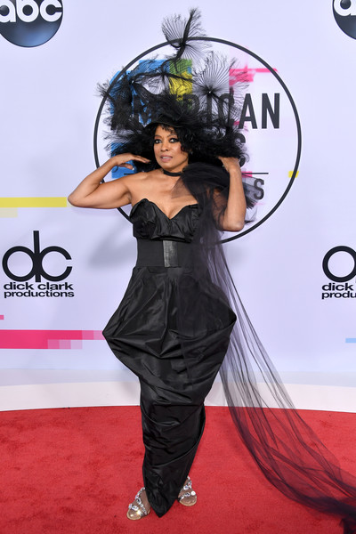 Diana Ross Strapless Dress