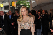 Diane Kruger Show a Little Leg at the Met Gala 2011
