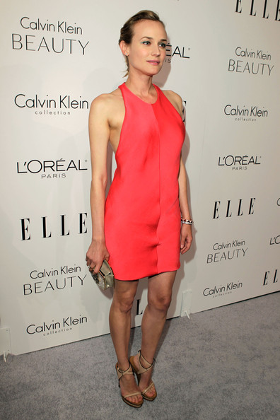 Diane Kruger Cocktail Dress [elle,clothing,dress,cocktail dress,shoulder,red,hairstyle,fashion,joint,fashion model,footwear,17th annual women in hollywood tribute,beverly hills,california,the four seasons hotel,17th annual women in hollywood tribute - red carpet,diane kruger]