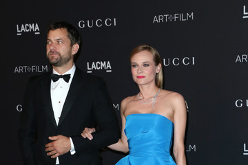 Diane Kruger Joshua Jackson LACMA 2015 Art+Film Gala Honoring James Turrell and Alejandro G Inarritu, Presented by Gucci - Arrivals