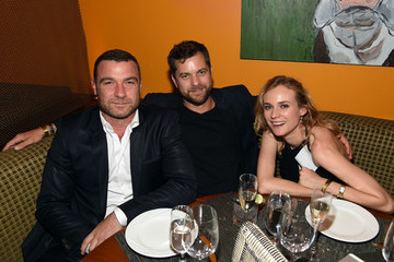 "Diane Kruger Joshua Jackson SHOWTIME VIP Post-Fight Dinner For ""Mayweather VS Pacquiao"" At Craftsteak"