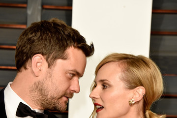 Diane Kruger Joshua Jackson Arrivals at the Elton John AIDS Foundation Oscars Viewing Party — Part 5