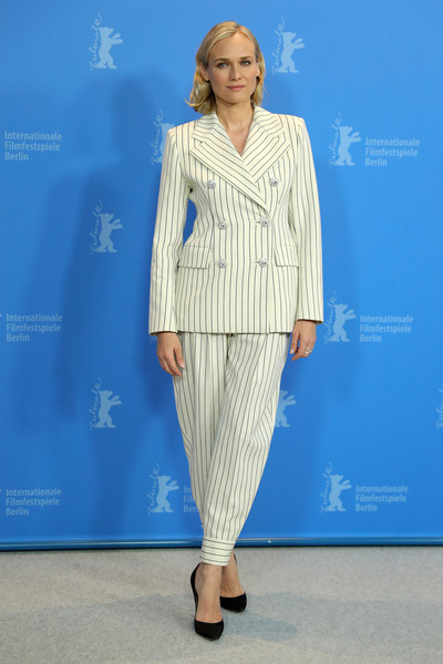 Diane Kruger Pantsuit [the operative photocall,clothing,blue,fashion,fashion show,fashion model,runway,pantsuit,electric blue,fashion design,suit,diane kruger,photocall,grand hyatt hotel,berlin,germany,the operative,berlinale international film festival,berlinale international film festival berlin]
