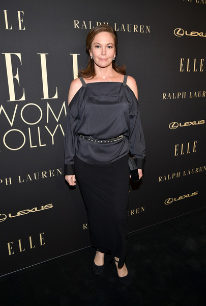 Diane Lane Long Skirt [clothing,shoulder,dress,fashion,little black dress,joint,premiere,fashion design,shoe,style,lexus - arrivals,26th annual women in hollywood celebration,ralph lauren,diane lane,los angeles,beverly hills,california,the four seasons hotel,elle,lexus]