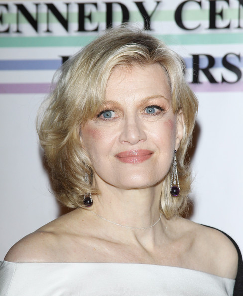 Diane Sawyer Short Wavy Cut