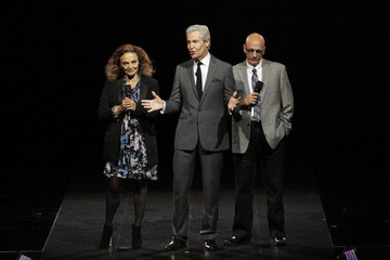 Diane Von Furstenberg Terry Lundgren Macy's Presents Fashion Front Row - Show