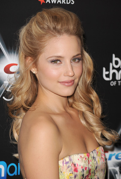 Dianna Agron Half Up Half Down