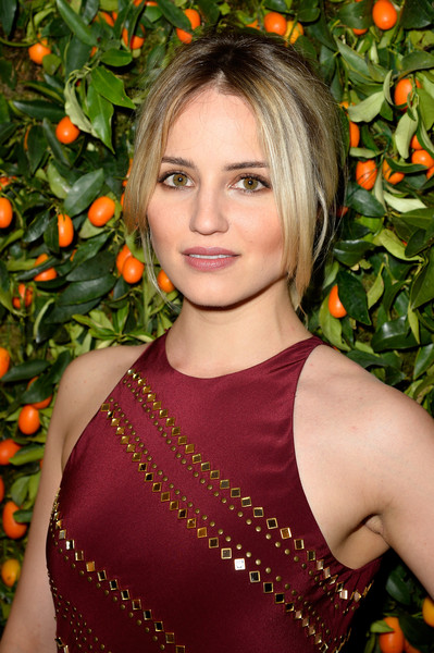 Dianna Agron Loose Ponytail [hair,beauty,human hair color,hairstyle,blond,lady,shoulder,fashion model,long hair,black hair,dianna agron,actor,singer,hair,hairstyle,dancer,store,paris,tory burch paris flagship,tory burch paris flagship opening,dianna agron,glee,actor,quinn fabray,dancer,singer,image,monica vinader fiji diamond]