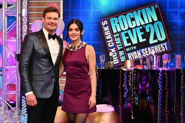 More Pics of Lucy Hale Over the Knee Boots (1 of 7) - Boots Lookbook - StyleBistro [fashion,event,talent show,performance,fashion design,formal wear,new york city,dick clarks new years rockin eve with ryan seacrest,lucy hale]