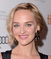 Jess Weixler attended the premiere of 'The Disappearance of Eleanor Rigby' wearing a romantic updo.