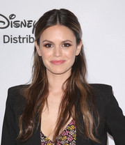 Rachel Bilson wore a simple yet sweet half-up style at the 2018 Disney/ABC International Upfronts.