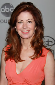 Dana Delany showed off her long curls while hitting an event in LA.