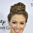 Alyssa Milano's Braided Bun