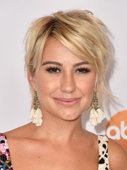 Chelsea Kane was rocker-chic with her layered razor cut at the 2015 Summer TCA Press Tour.