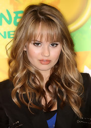 Debby loves to play with her beauty look. At the Disney & ABC press junket, she opted for a glossy nude lipstick.
