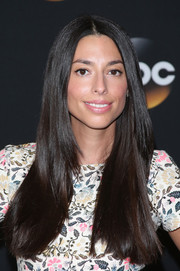 Jada Catta-Preta wore her long hair down with a center part during the TCA Summer Press Tour.
