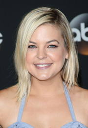 Kirsten Storms topped off her look with a trendy layered cut when she attended the TCA Summer Press Tour.