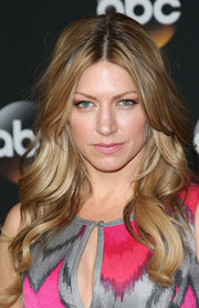 Jes Macallan looked divine with her beautifully sculpted waves at the TCA Summer Press Tour.