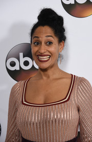 Tracee Ellis Ross rocked mohawk knots at the Disney ABC Television Group Winter TCA Tour.