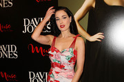 Dita Von Teese poses as she launches her Dita Von Teese 'Muse' Collection at David Jones on October 28, 2011 in Melbourne, Australia.