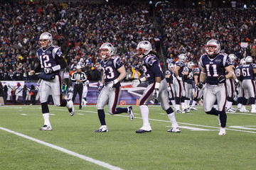 Tom Brady Benjarvus Green-ellis Divisional Playoffs - Denver Broncos v New England Patriots