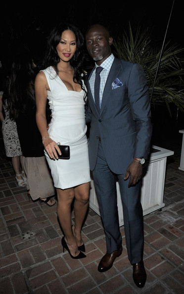 Djimon Hounsou Men's Suit