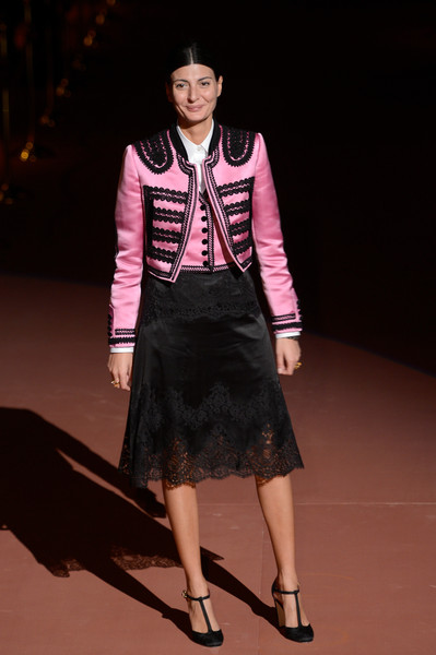 a883cb7fe0 Giovanna Battaglia at Dolce & Gabbana - The Best Front Row Fashions ...