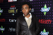 Donald Glover Leather Jacket
