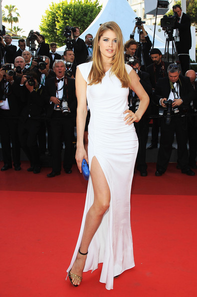 Doutzen Kroes Evening Dress