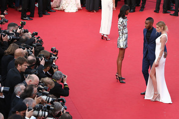 Doutzen Kroes Sunnery James Opening Ceremony & 'La Tete Haute' Premiere - The 68th Annual Cannes Film Festival