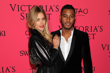 Doutzen Kroes Sunnery James 2013 Victoria's Secret Fashion After Party - Pink Carpet Arrivals