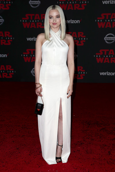 Dove Cameron Halter Dress