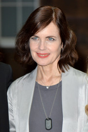 Elizabeth McGovern wore a vintage-style wavy bob at the 'Downton Abbey' press launch.