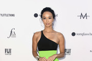 Draya Michele One Shoulder Dress