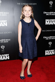 Erin Gerasimovich was an absolute cutie in a Peter Pan-collar dress during the 'Delivery Man' screening in NYC.
