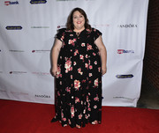 Chrissy Metz donned a floral maxi dress for the Shop for Success VIP event.