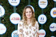 Drew Barrymore Leather Slip On Shoes