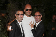 Dsquared's Dean and Dan Caten Host Dinner at Mandolin Beach