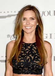 Audrina Patridge wore a stylish layered cut at the Art Basel kickoff party.